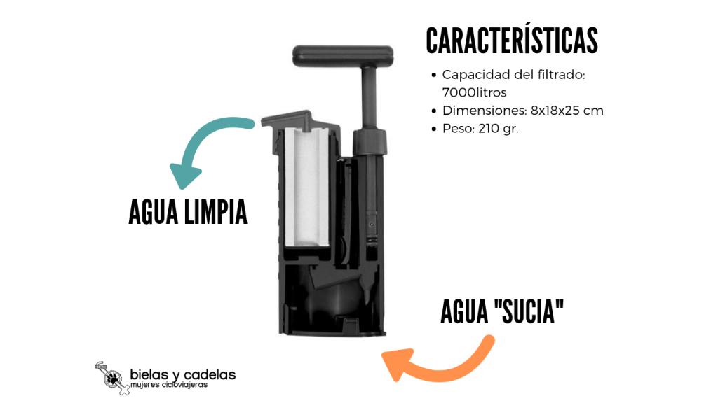 filtro de agua Katadyn mini
