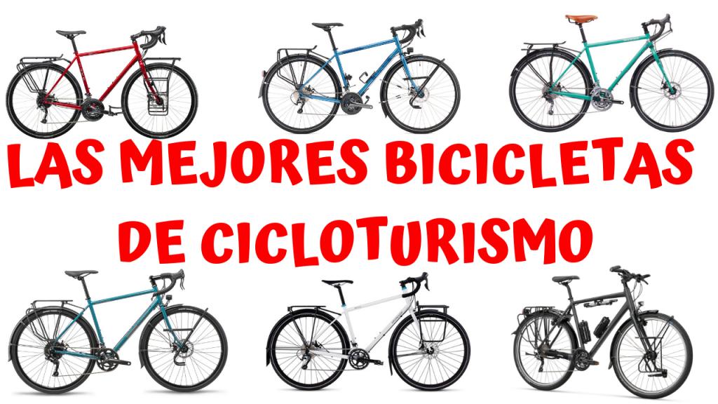 Las 7 mejores bicicletas de cicloturismo